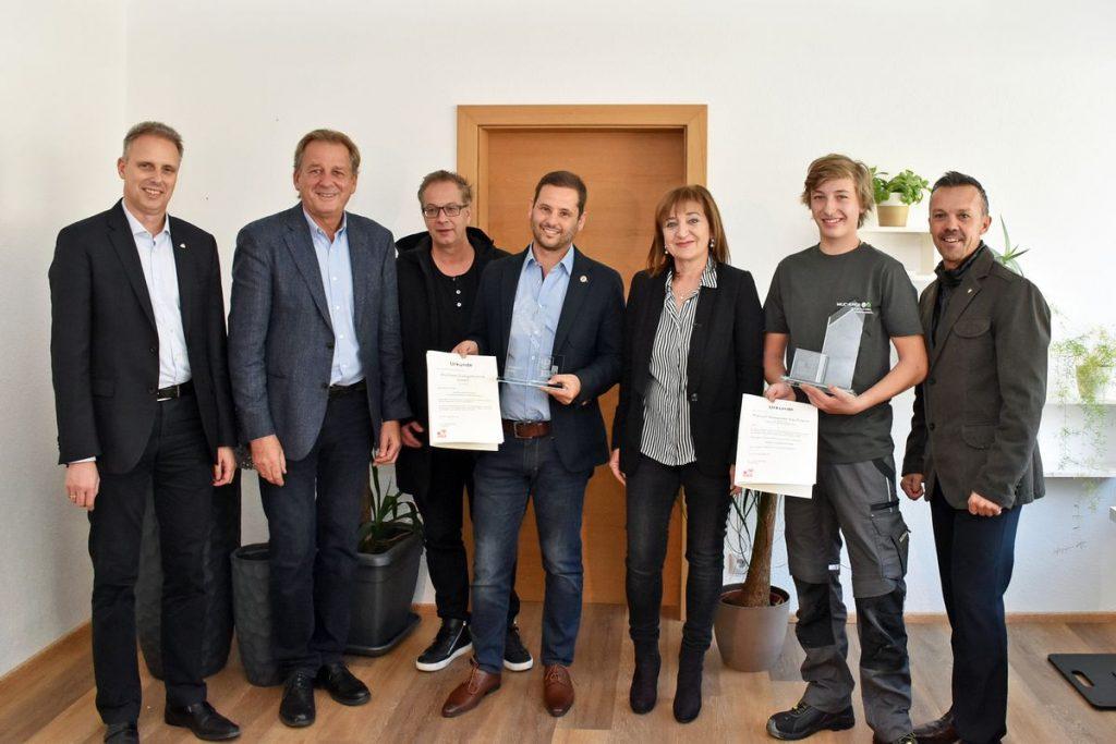 Lehrling des Oktobers 2018: Manuel Kaufmann