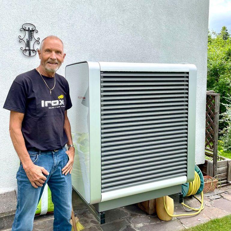 PV-Anlage und Wärmepumpe für Rudolf Pittl