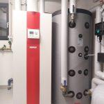 Installation Wärmepumpe in Pettneu